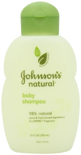 Johnson's Baby Natural Shampoo, 10 Ounce (Pack of 2)
