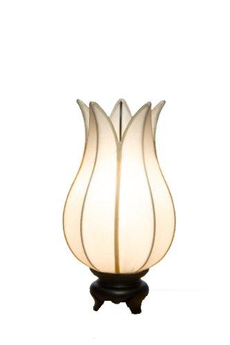Baby Flowering Lotus Lamp White