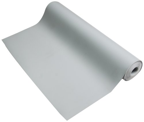 "ESDProduct Vinyl General Purpose Mat Roll, 3/32"" Thick, 10' Length, 3' Width, Gray at Sears.com"
