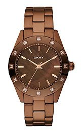 DKNY 3-Hand Analog with Glitz Women's watch #NY8663