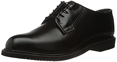 Men's Bates Bates Lites Black Leather Oxford (5 D in Black)