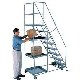 Stock Picking Ladder Osha Handrail Kit - 11 Step