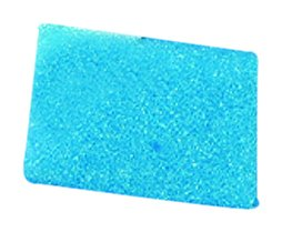 "Kartell 230264-0001 Blue Tissue Embedding Sponge for Tissue Embedding Cassettes, 1.2"" Length x 1"" Width (Case of 500)"