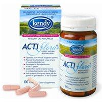Actiflora+ Synbiotic (Pre/Probiotic) - 100 Capsules by Kendy USA, 2 Pack