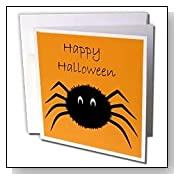 Black Happy Halloween Spider