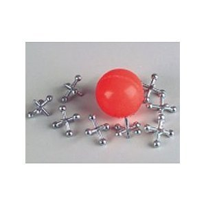 Metal Jacks With Ball - 12 sets per unit