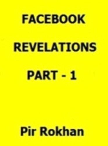 Facebook Revelations Part 1