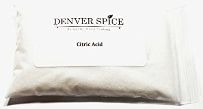 Citric Acid-4oz- Sour Salt by Denver Spice