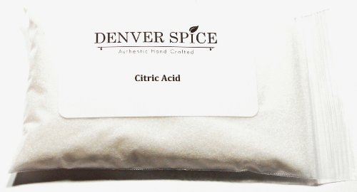 Citric Acid-8oz Heat Sealed Pouch
