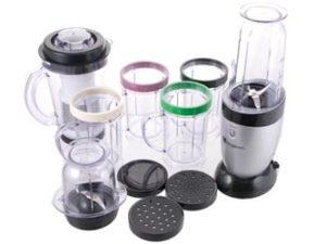 Kingavon 17 Piece Multi Purpose Power Blender- Perfect for Blending, Whisking, Juicing  &  Grinding