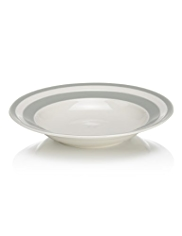 Truro Striped Pasta Bowl