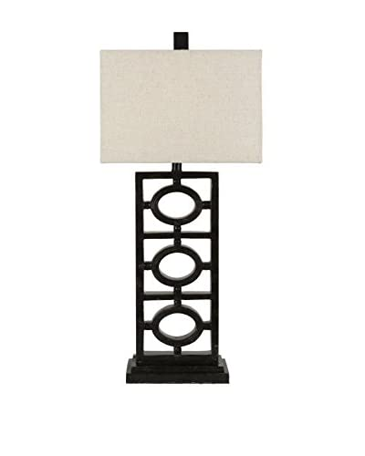 Surya Madelon 1-Light Table Lamp, Aged Black