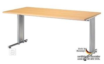 Hammerbacher ufficio di serie non modello NS 16, in legno di faggio, altezza di lavoro: 720 mm, dimensioni: (l) 1,600