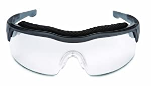 Uvex SX0300D ExtremePro Safety Eyewear Clear Dura-Streme Hardcoat/Anti-Fog Lens, Black/Gray Frame