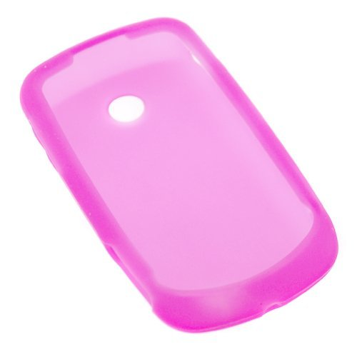 Pink Silicone Skin Soft Cover Case for AT&T Samsung Solstice II A817