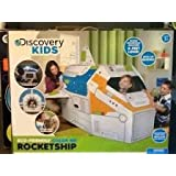 Discovery Kids 5-ft. Cardboard Rocket Ship toy gift idea birthday