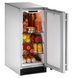 2115RSOD-00 U-Line 2000 Series Outdoor Refrigerator - Right Hinge - Stainless Steel