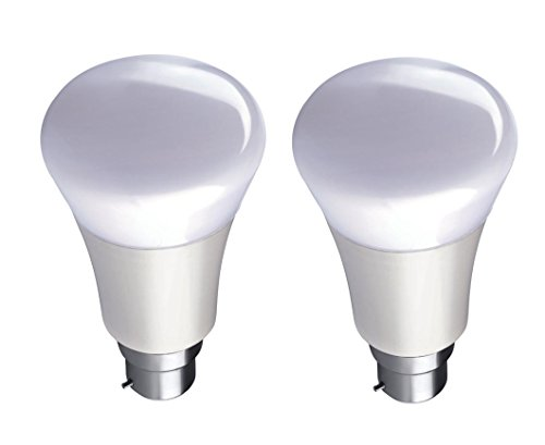 Syska SSK-PAP 9W B22 LED Bulb (White, Pack of 2)