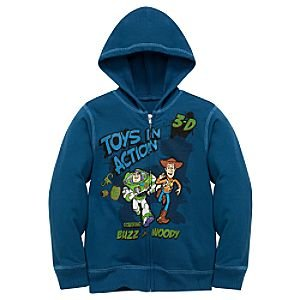 Disney Toy Story Zipped Hoodie for Boys