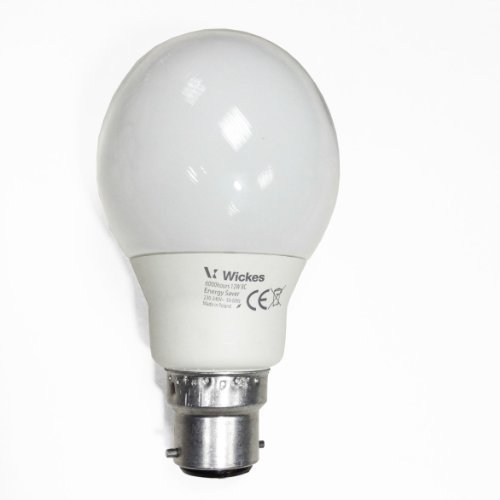 Sylvania 7W Cfl Golf Ball Bc (B22) - 827 [2700K] Extra Warm White Colour - [Eu Specification: 220-240V]