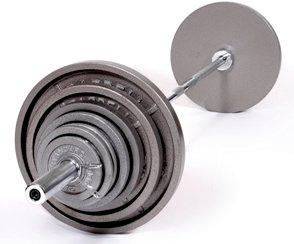 USA Sports 500LB Standard Olympic Weight Set by USA Sports