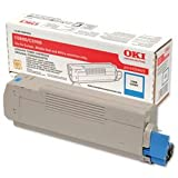 Brand New. OKI Laser Toner Cartridge Page Life 5000pp Cyan [for C5800 C5900 C5550 MFP] Ref 43324423