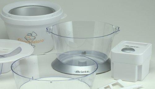 Ariete gran gelato gelatiera for Ariete elettrodomestici