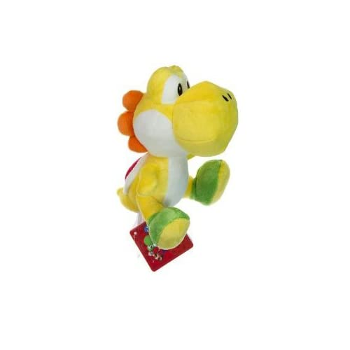 Nintendo Super Mario Bros. Wii Plush Toy   6 Green Yoshi