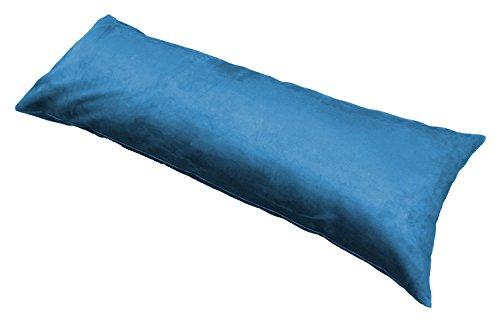Moonrest-Classic-Microsuede-Body-Pillowcase-20-X-54-Blue
