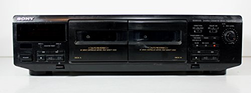 Sony Tc-Wr350Z Stereo Double Tape Cassette Recorder Player