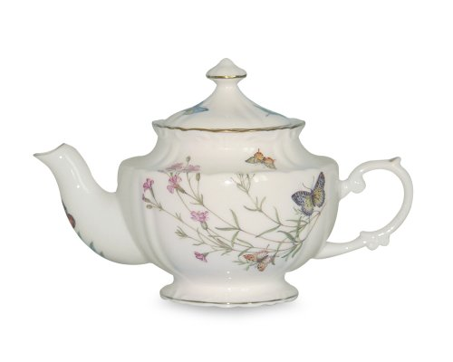 Gracie China Butterfly 2-Cup Gold Trimmed