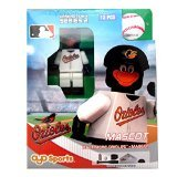 MLB Baltimore Orioles The Oriole Bird Generation 4 Mini Figure, Small, Black