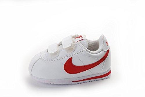 Nike Cortez (TDV), Scarpe primi passi bambini Multicolore Blanco / Rojo (White / University Red) 23 1/2