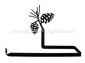 New - Pinecone Paper Towel Holder by Village Wrought Iron Inc