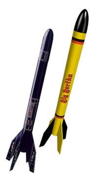 An Estes Original - Estes 1948 Big Bertha Flying Model Rocket Kit