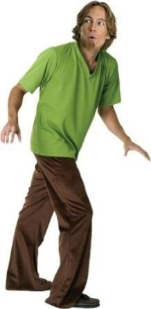Adult Shaggy Costume Scooby Doo, Where are You?