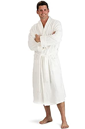 fishers finery men 39 s bamboo terry robe at amazon men s clothing store bathrobes. Black Bedroom Furniture Sets. Home Design Ideas