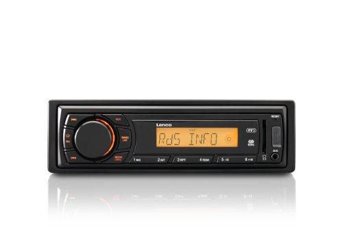 Lenco CS-410 Auto-Radio (RDS, AM/FM/UKW/MW, 4