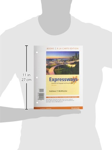 expressways scenarios for paragraph and essay writing 3rd edition