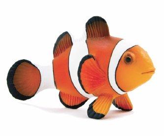 Mojo Fun 387090 Clown Fish - Realistic Sea Life Marine Toy Replica