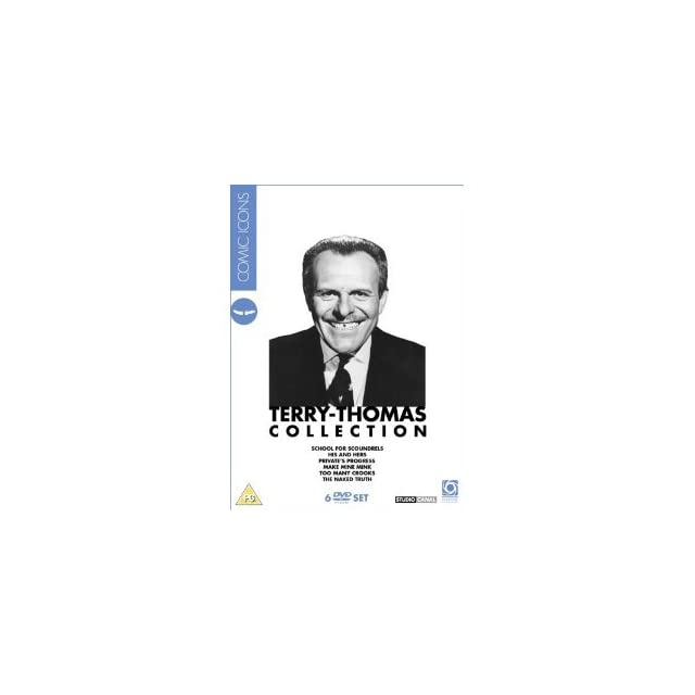 Terry Thomas Collection   6 DVD Box Set ( School for Scoundrels / Privates Progress / Make Mine Mink / Too Many Crooks / The Naked Truth / Broth [ NON USA FORMAT, PAL, Reg.2 Import   United Kingdom ]
