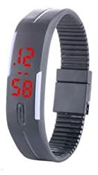 LegendDeal Grey Digital Casual Watch for Boys and Girls
