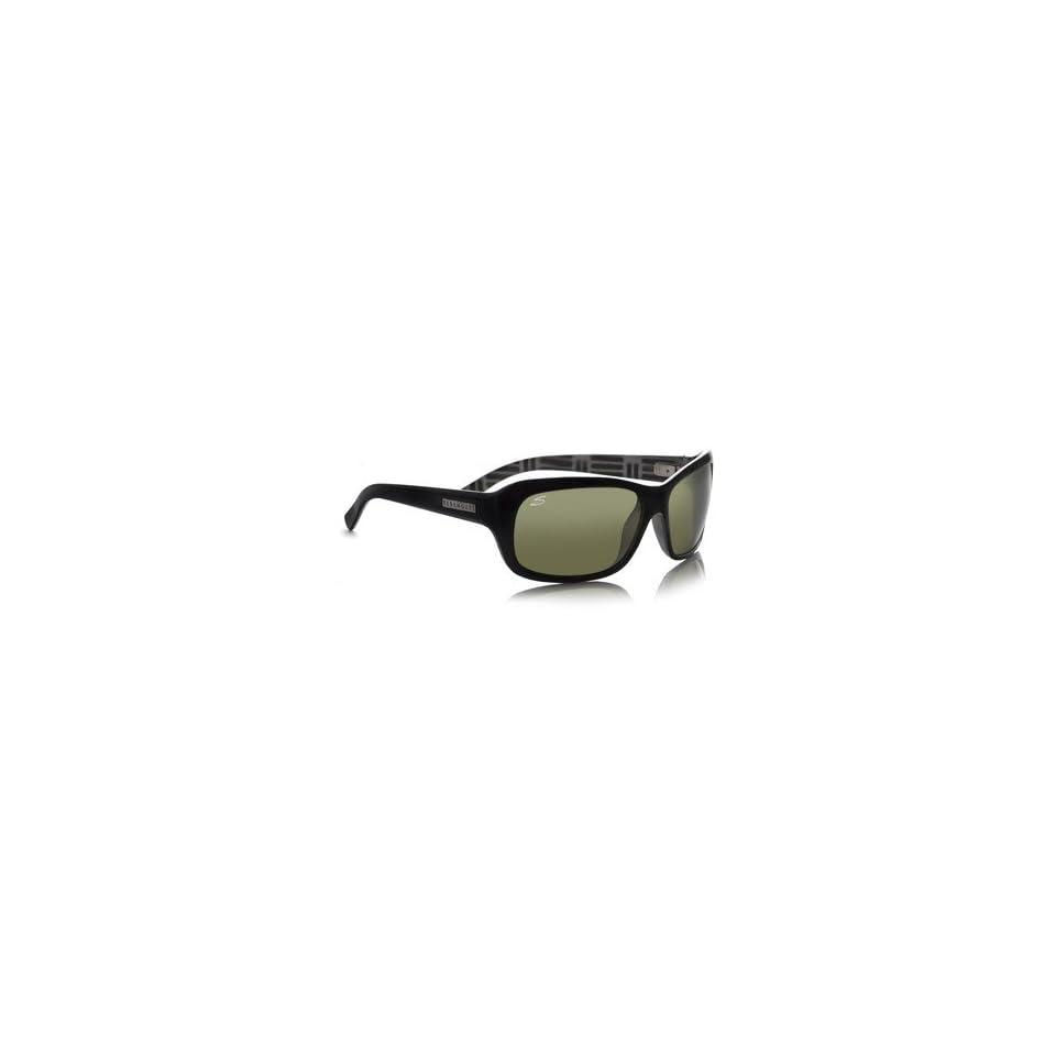 09b1f3d30e12 Serengeti Eyewear Vittoria Shiny Black/Black Mosaic Polarized Sunglasses