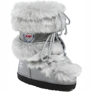 Olang Puff Snow Boots (38/40, Silver)