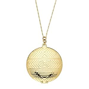 House of Harlow 1960 - Medallion Pendant - 14 Karat Yellow Gold Plated