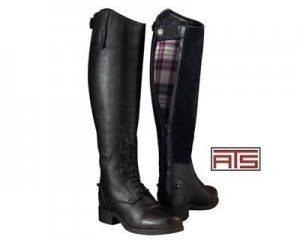 ARIAT Damen Winter Reitstiefel BROMONT Tall H2O insulated