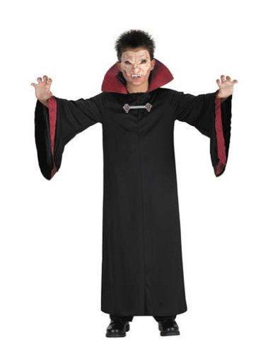 Evil Vampire Child Sz 4 6 Kids Boys Costume
