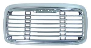 One Chrome Freightliner Columbia Replacement Grille