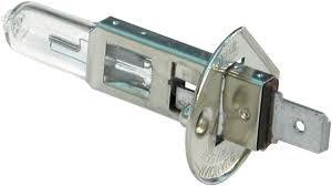 100 X H1 HALOGEN HEADLAMP / BEACON BULB 466 24V 70W P14.5s 10mm