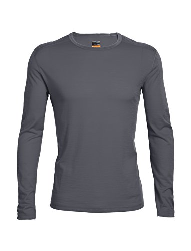 Icebreaker Men's Oasis Long Sleeve Crewe Top, Monsoon, X-Large (Oasis Shoes Men compare prices)